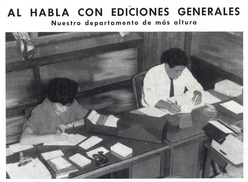 Al habla con Ediciones Generales